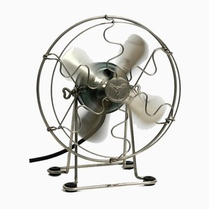 Mid-Century Industrial Table Fan from Maico