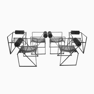 Seconda Chairs by Mario Botta for Alias, 1980s, Set of 6