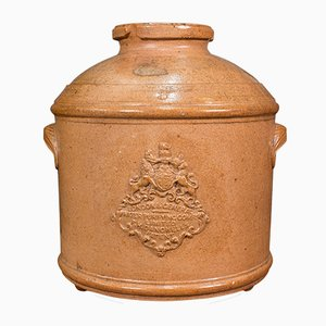 Antique English Victorian Decorative Water Purifying Filter in Ceramic, 1870s