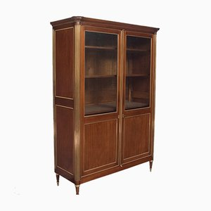French Louis XVI Style Display Cabinet, 1880s