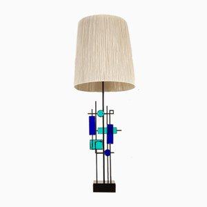 Lámpara de mesa escandinava moderna de Svend Aage Holm Sørensen para Holm Sørensen & Co, años 60