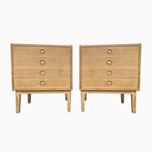 Danish Chests of Drawers in the Style of Børge Mogensen, 1960s, Set of 2