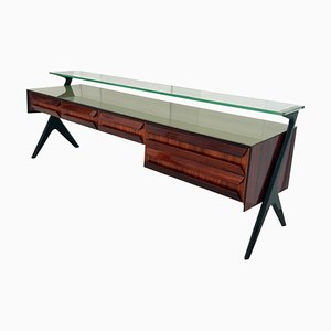 Mid-Century Italian Sideboard or Vanity Dresser by Vittorio & Plinio Dassi, 1950s