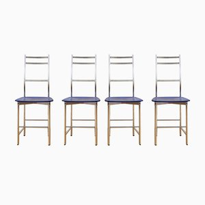 Chairs from Ycami, Italy, 1980s, Set of 4