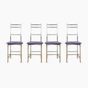 Stühle von Ycami, Italien, 1980er, 4er Set