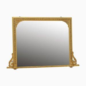 Turn of the Century Overmantel Mirror