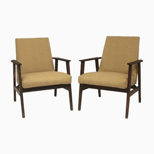 Armchairs by Henryk Lis, 1970s, Set of 2