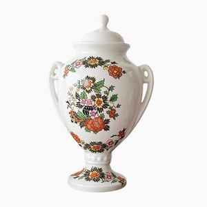 Recipiente, jarrón y jarra de jengibre vintage, años 60