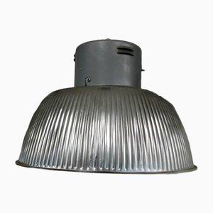 Lámpara industrial de aluminio, años 70