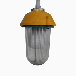 Lampes en Métal et Verre de Palazzoli, 1970s