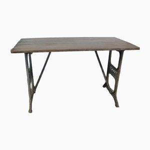 Industrieller Tisch von Necchi, 1960er