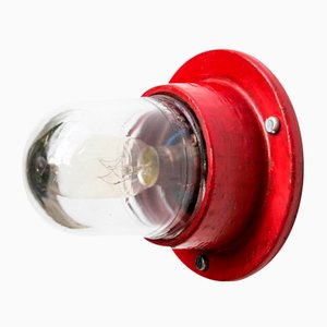 Small Red Loupiote Sconce