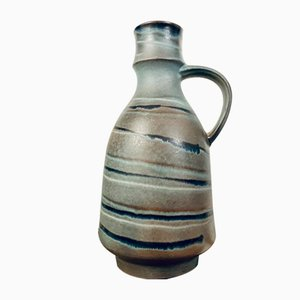 Large Mid-Century Ceramic Vase from Karlsruher Majolika