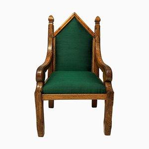 Englischer Gotischer Sessel