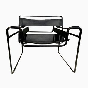 Mid-Century Wassily B3 Lounge Chair by Marcel Breuer for Grassi