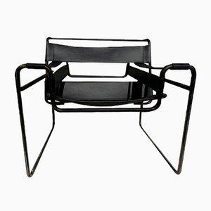 Mid-Century Wassily B3 Sessel von Marcel Breuer für Grassi