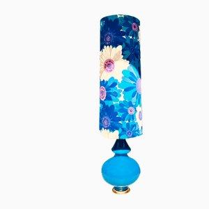 Glass Model Floor Lamp from Peill & Putzler, 1960s