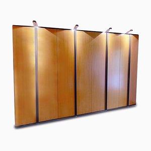 Illuminated Wood Cabinet from Möller