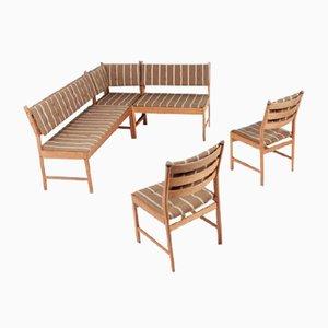 Seating Group by Kurt Østervig for KP Møbler, Denmark, 1960s