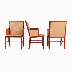 Armchairs by Bernt Andersson for Skandi-Form, Sweden, 1980s, Set of 3