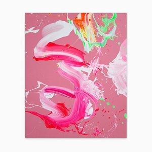 Hillier Lake, abstrakte Malerei, 2021