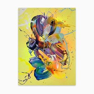Abstrakter Tag, abstraktes Gemälde, 2021