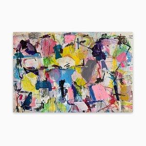 Untitled 21J, Pittura astratta, 2021