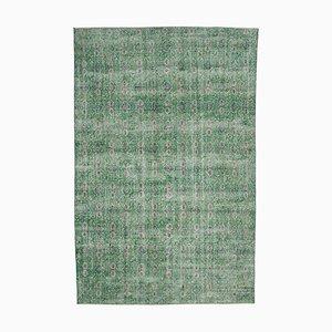 Tappeto bohémien verde