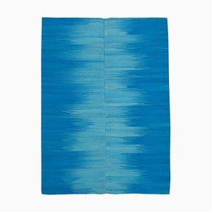 Tappeto Kilim blu