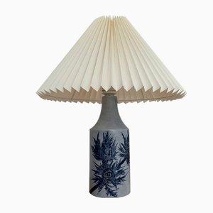 Lámpara de mesa danesa de cerámica de Fog & Morup para Royal Copenhagen, años 60