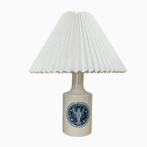 Lámpara de mesa danesa de cerámica de Fog & Morup para Royal Copenhagen, años 70