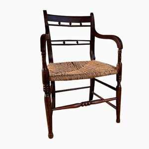 Antique Regency Elm Sussex Chair