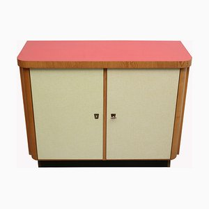 Resopal Furniture Yellow Red, 1950s