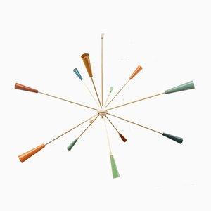 Mehrfarbige Sputnik Lampe von Stilnovo
