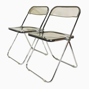 Chairs by G. Piretti for Castelli, Italy, 1960s, Set of 2