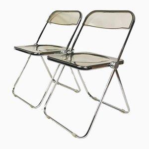 Stühle von G. Piretti für Castelli, Italy, 1960er, 2er Set