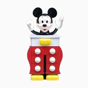 Disney Mickey Mouse Dresser by Pierre Charged, 1980s
