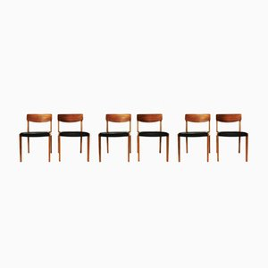 Chairs, Denmark, 1960s, Set of 6