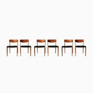 Stühle, Dänemark, 1960er, 6er Set