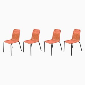 Bar Chairs, 1960s, Set of 4
