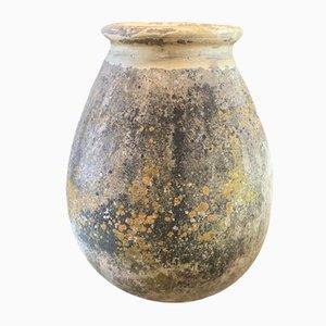 Large 19th Century French Biot Jar