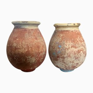 19th Century French Biot Jars, Set of 2