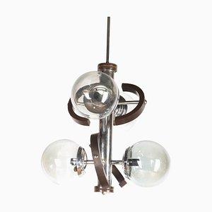 Mid-Century Italian Sputnik Pendant Lamp