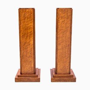 Pedestales para escultura / flores. Juego de 2