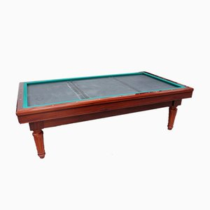 French Louis XVI Style Billiards Table in Mahogany