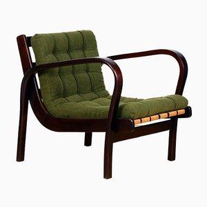 Lounge Chair by K. Kozelka & A. Kropacek for Interier Praha, 1940s