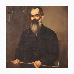 Portrait of a Gentleman, 19th Century, Oil on Canvas