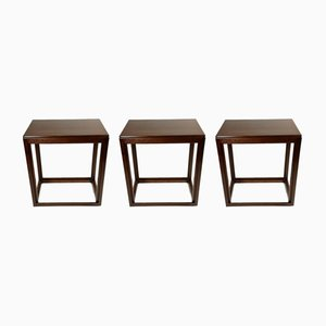 Art Deco Nesting Tables, 1930s, Set of 3