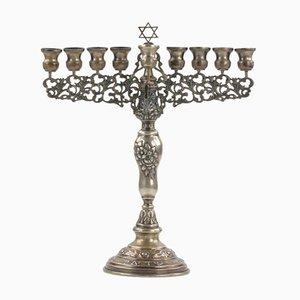 Silver Hanukkiah from Walter Knoll / Wilhelm Knoll