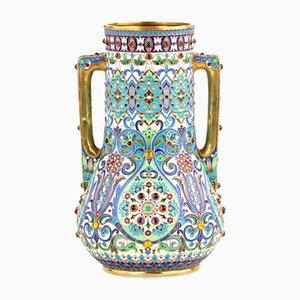Enamel Cloisonne Vase